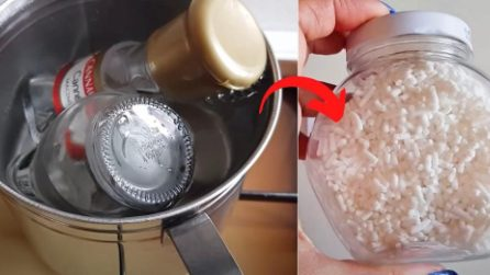 How to remove the glue on the jars