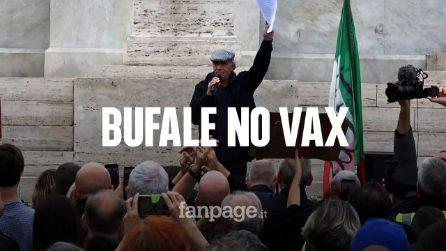 """Il comizio di Montesano e il """"vaffa"""" a Grillo"""