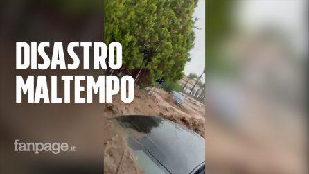 Allerta meteo rossa in Sicilia: le immagini degli allagamenti da Catania a Pantelleria