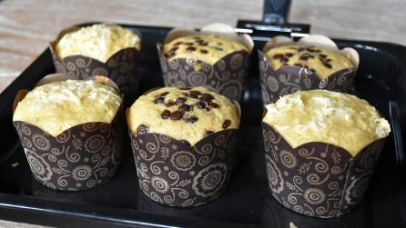 Cheese and chocolate muffins: the easy way to make them fluffy and delicious