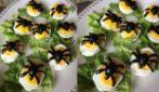 Uova ripiene per Halloween: l'idea semplice, originale e saporita