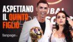 """""""Cristiano Ronaldo e Georgina aspettano il quinto figlio"""": l'annuncio dalla Spagna"""